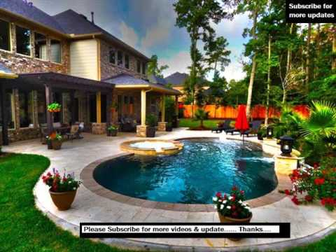 Pergola Swimming Pool Design Ideas - YouTube