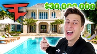 I Moved in the NEW FaZe House... *$30,000,000*