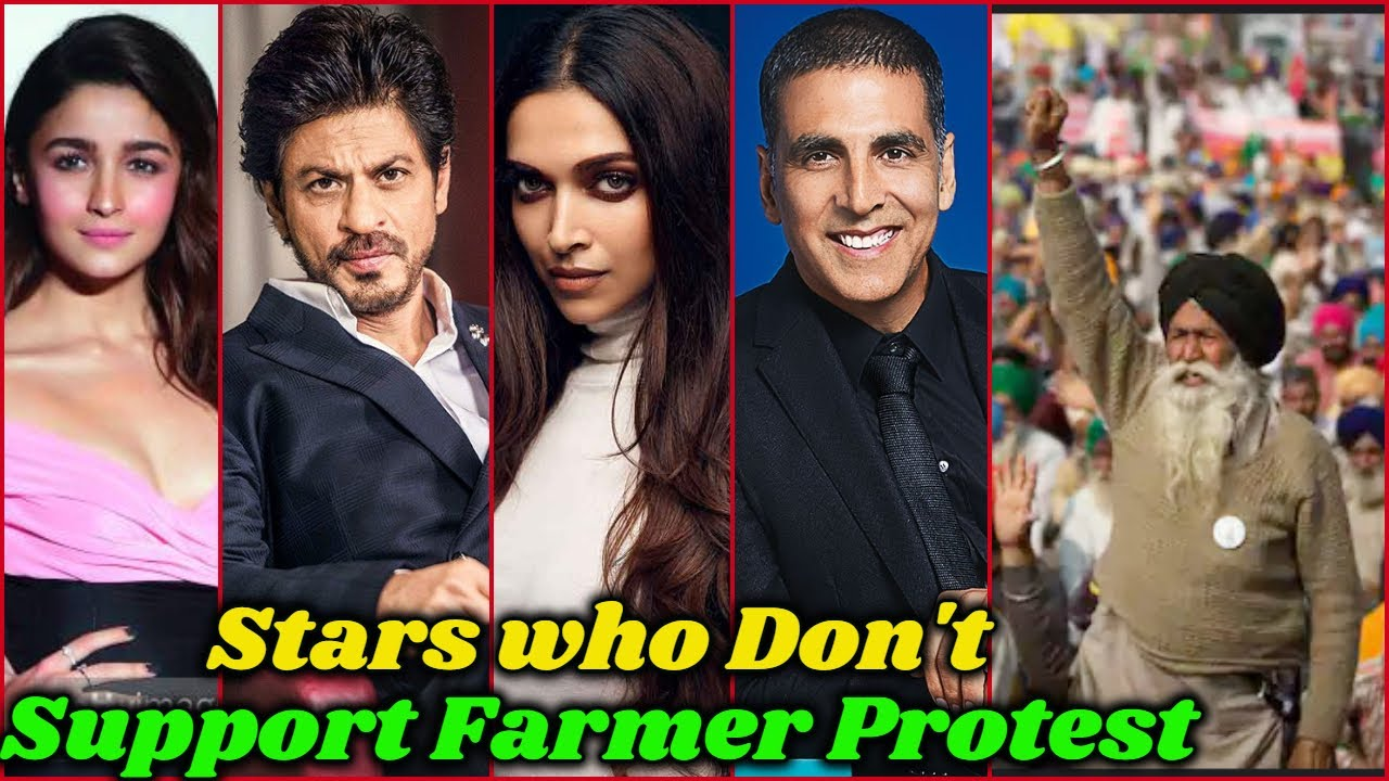 Download Bollywood Stars who are Not Supporting Farmers Protest