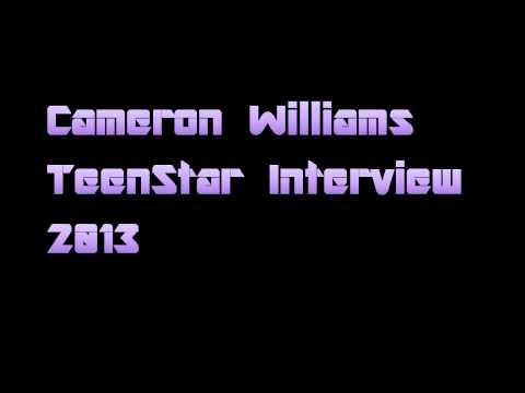 Cameron Williams TeenStar Interview