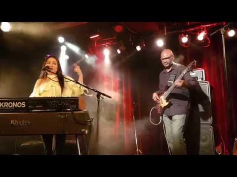 Rose Ann Dimalanta Trio - funky song @ Le Singe Club Biel CH