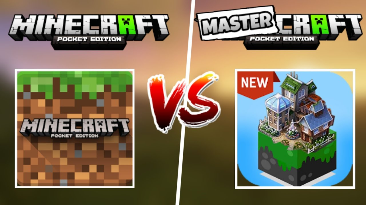 Minecraft VS MasterCraft  -JOSUAL 10-
