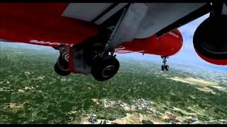 Video FSX HD AIR ASIA AIRBUS X A320 KOTA KINABALU (WBKK) TO MIRI (WBGR) FULL FLIGHT! download MP3, 3GP, MP4, WEBM, AVI, FLV Juni 2018
