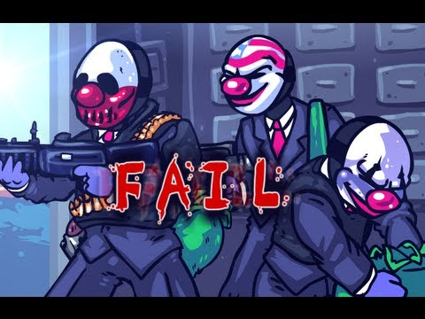 PAYDAY FAIL, A Payday the Heist parody!
