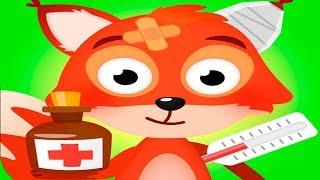 Доктор для лисенка #2. Лечу животных как Плюшева. Новая детская игра