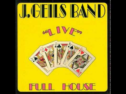 The J Geils Band Looking For A Love