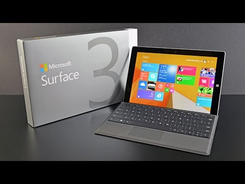 Microsoft Surface 3 & Type Cover: Unboxing & Review