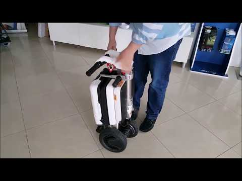 JUNLEY xe điện gấp ba bánh gọn nhẹ như 1 chiếc Vali size nhỏ   Xe Điện GIANT E-BIKE nhập khẩu
