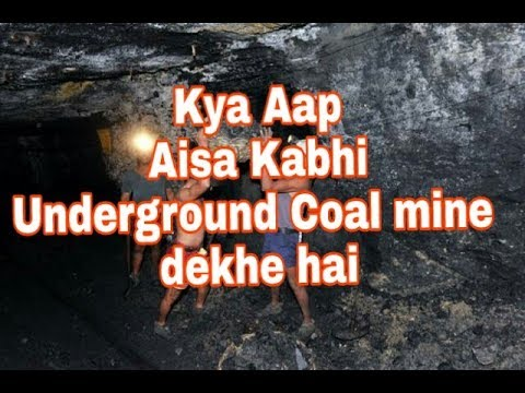 Underground coal mine by Indian minerology