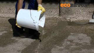 Ecobeton - Restoration of damaged concrete