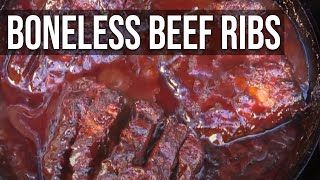 Boneless Beef Ribs Recipe By The Bbq Pit Boys
