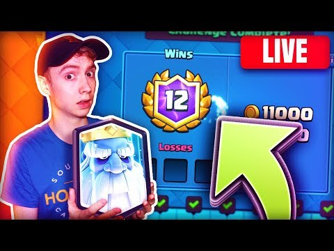 The ROYAL GHOST IS HERE! 12-0 FIRST TRY GG. | Clash Royale