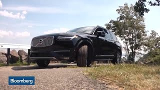 Volvo's New XC90: Test Driving On the Open Road
