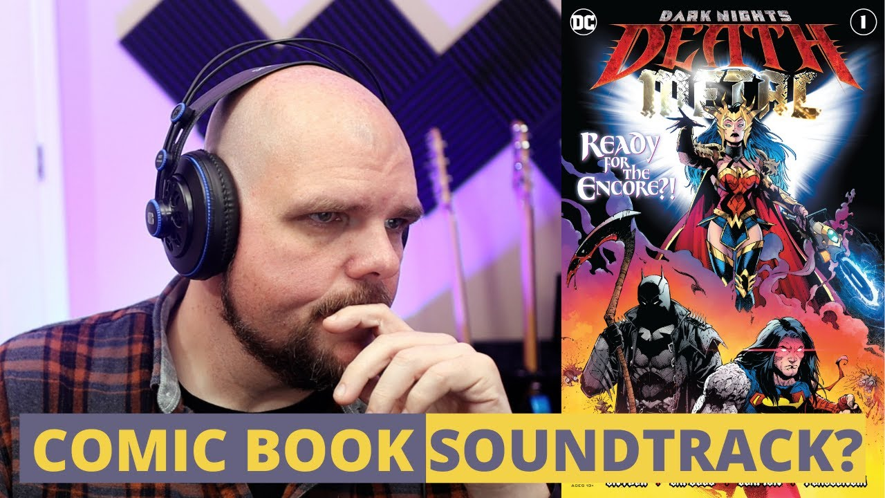 Download Bass Player REACTS and REVIEWS a comic book soundtrack / Dark Nights: Death Metal Soundtrack Review