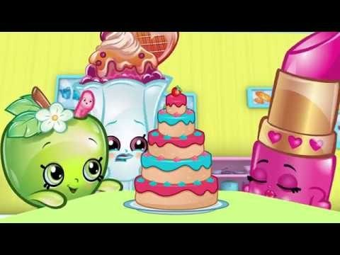 Shopkins Gemstone Opaletta -Season 6 Exclusive Limited Edition- Food Fight At Small Mart