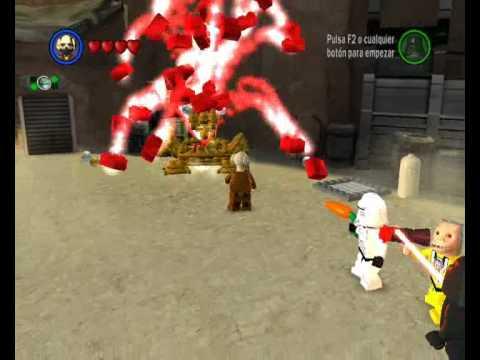 lego star wars the complete saga 160 gold bricks - youtube