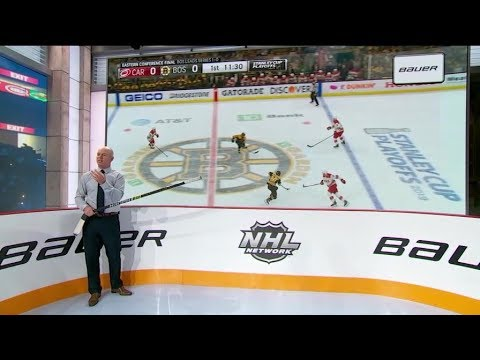 NHL Tonight:  Pastrnak Demo:  A Rink Demo Of David Pastrnak`s Electric Offense  May 15,  2019
