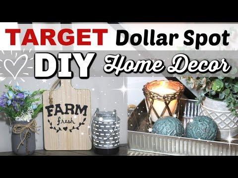 Target Dollar Spot DIYS | DIY FARMHOUSE Home Decor | Krafts by Katelyn
