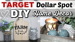 Target Dollar Spot DIYS | DIY FARMHOUSE Home Decor | Krafts by Katelyn