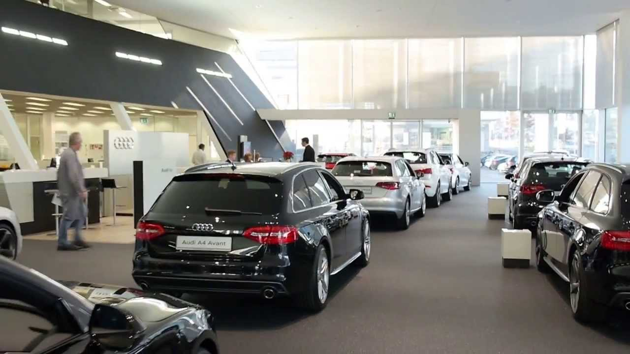 audi zentrum stuttgart rundgang 2013 youtube. Black Bedroom Furniture Sets. Home Design Ideas
