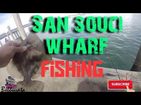 San Souci Park Fishing Pier | Wharf Fishing | Captain Cook Bridge | Georges River | Sydney Fishing