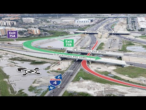 Kirkman Road exit to close Monday