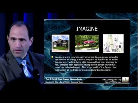 Preview Breakthrough Energy Conference 2012, Holland - Sterling D Allan - Unslave Humanity Media