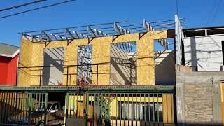 construccion de segundo piso  a base de estructura metálica  y metalcon