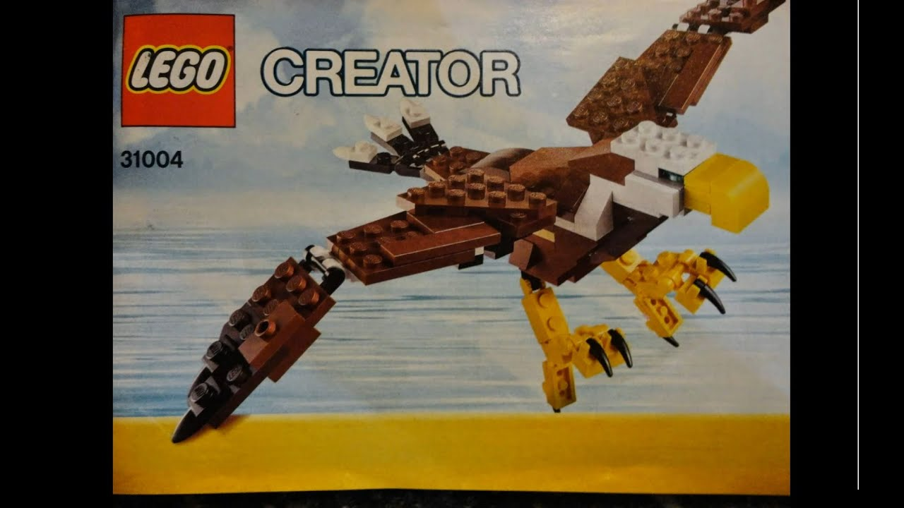 Lego Instruction Manual For Lego Creator A 31004 3 In 1 Youtube