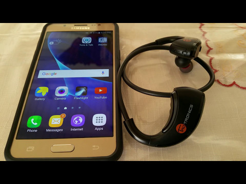 How to pair TaoTronics TT-BH09 headphones to Samsung Galaxy J5