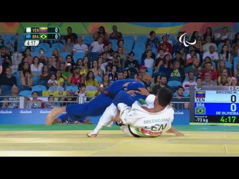 Judo | Men - 73 kg | VEN X BRA  Preliminary | Rio Paralympic Games 2016