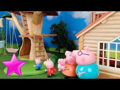 Peppa pig en espa ol 29 la casa del rbol youtube - Peppa pig la casa del arbol ...