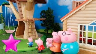 "Peppa Pig en español 29º🌳 ""La CASA del ÁRBOL""🌳"