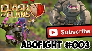 Clash of Clans Abo Fight Nr.3 Golem Hexen Pekka... By lucka