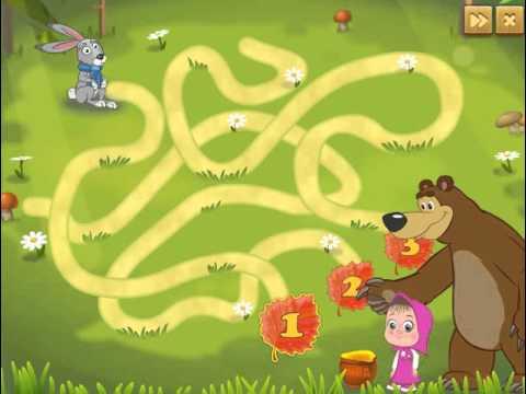 Мультик игра Маша и Медведь: Миссия мороженое (Masha and Bear Ice Cream)