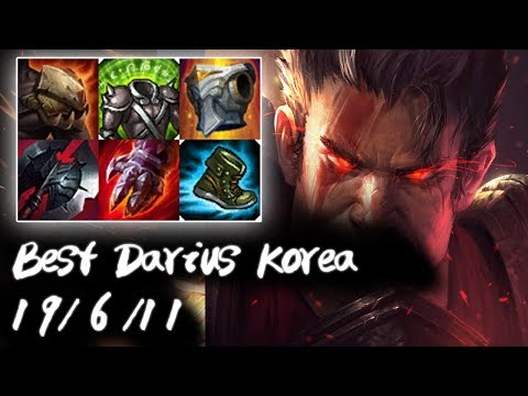 Best Darius Korea Top vs Cho'Gath | Korea High Elo
