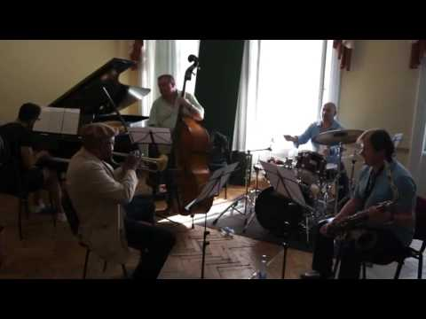 Wynton Marsalis rehearsing with Igor Butman Quartet
