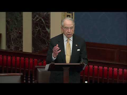 Grassley on the Growing Border Crisis