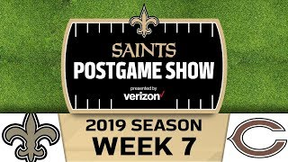 Saints Postgame Show After Saints Win vs Bears in Week 7 | New Orleans Saints Football