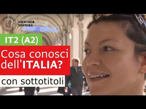 Italiano per stranieri - Cosa conosci dell'Italia? (A2 con sottotitoli)