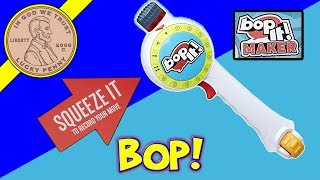 """Bop It! Maker - Create 10 Different Moves """"Ping Pong"""" """"Fly Swatter"""" """"Mixing Salad"""" What A Blast!"""