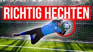 GOALKEEPER TRAINING: Diving like Manuel Neuer