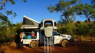 RedSands Campers Australia - the easy way of setting up the roof top tent