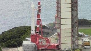 イプシロンロケット初公開 内之浦宇宙空間観測所