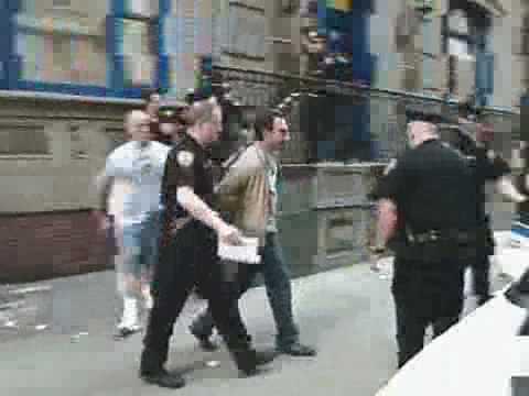 Christian Slater Arrested Video