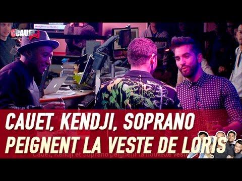 Cauet, Kendji Et Soprano Peignent La Nouvelle Veste De Loris - C'Cauet Sur NRJ
