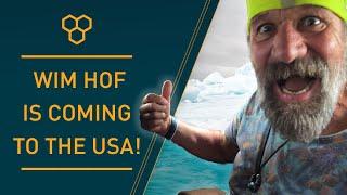 'Iceman' Wim Hof Is Coming to The USA!   Wim Hof Method Experience