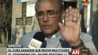 Padre Adolfo Bertinelli por América TV