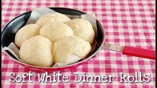 QUICK Soft White Dinner Rolls in a frying pan Recipe   OCHIKERON   Create Eat Happy :)