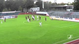 SV Wacker Burghausen - 1. FC Nürnberg II (Regionalliga Bayern 15/16, 9. Spieltag)